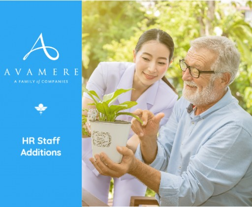 Avamere Family of Companies Invests in Employees With New HR Staff
