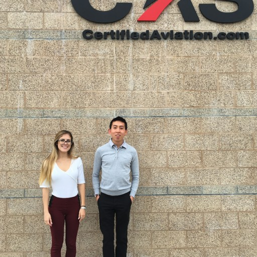"Certified Aviation Services ""Welcomes New Interns"""
