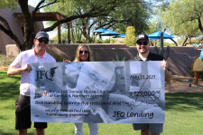 John Kresevic, JFQ Lending donation for Ronald MacDonald House