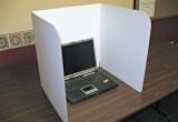 "Classroom Products 20"" laptop / chromebook carrel."