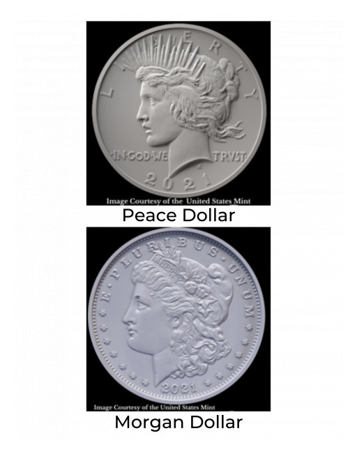Historic New Issues of 2021 Peace and Morgan Silver Dollar Approved by the House