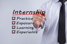 Internships give practice, exposure, learning, experience
