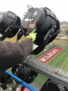 Stadium Light Install