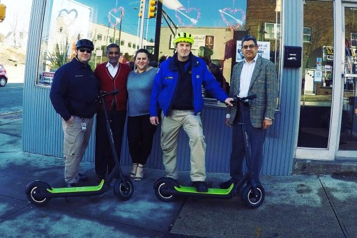 Electric Scooters Become Police Department's Vehicle of Choice