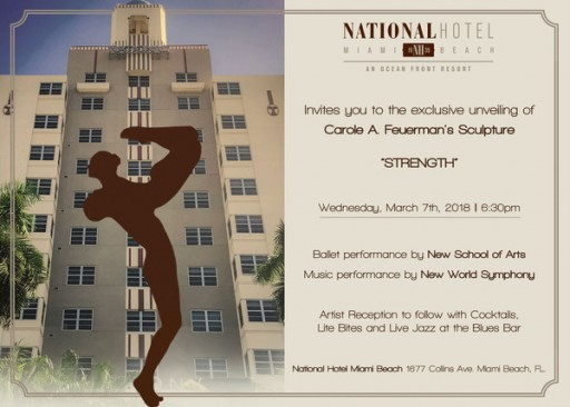 Carole Feuerman Unveils New Hyperrealistic 14-Foot Sculpture of Dancers at the National Hotel