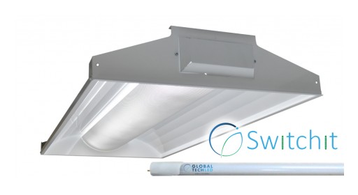 USA Made LED Troffer Line Announced by Global Tech LED