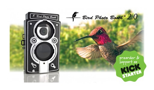 Bird Photo Booth 2.0: The World's First Wireless Bird Feeder and Motion-Activated Bird Camera Combo for Everyone