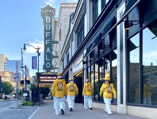 Buffalo's Scientology Volunteer Ministers Join a Global Campaign to Help People Stay Well