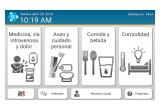 Eloquence's Language Access Solution (LAS) tablet screenshot