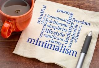 Minimalism on a Napkin