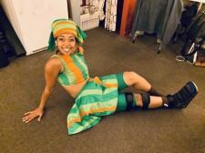 Dancer Nicole Alvarez Uses Equinus Brace In Between Lion King Performances