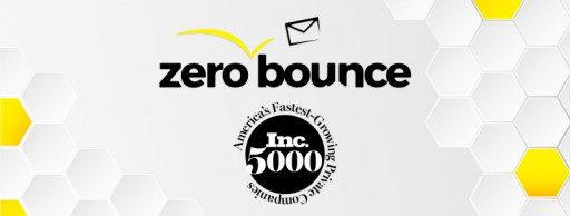 ZeroBounce Ranks No. 40 on the Inc. 5000 List of the Fastest-Growing Companies in America