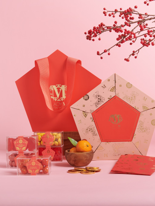 Lady M New York Debuts the Lady M 2021 Lunar New Year Gift Set, a Luxurious and Lucky Candy Box to Celebrate the Year of the Ox