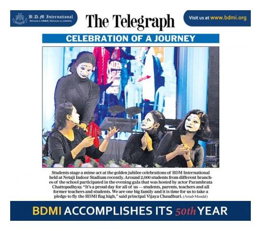 BDMI Celebrates Their Golden Jubilee Year