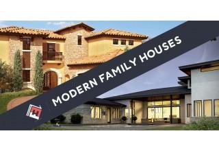 Modern Family Houses Custom Homes