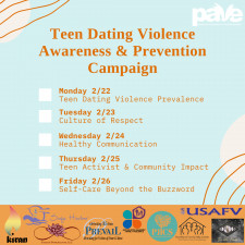 Teen Dating Violence Awareness & Prevention Month Campaign