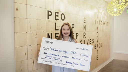 Nextep Charitable Foundation Donates $10,000 to Urban League to Support Local Black Community