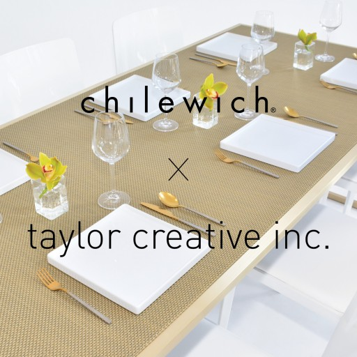 Taylor Creative Inc. Launches First-Ever Furniture Collection With Chilewich Textiles