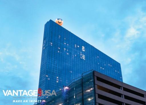 Vantage LED USA and Eastern Sign Tech Restore Atlantic City Icon