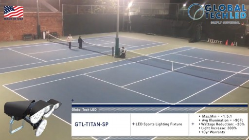 Tennis Club Gets Big Results From LED Lighting Makeover Powered by Global Tech LED