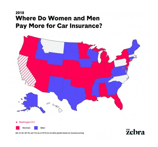 Study: Women Now Pay More Than Men for Car Insurance in 25 States (Even Though Men Are Riskier Drivers)