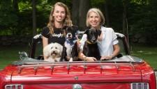 Dogly Founders Cory & Jane Turner with Ozzy, Bozley & Zoe
