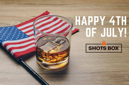 Shots Box Highlights Classic, All-American Whiskeys Ahead of Independence Day