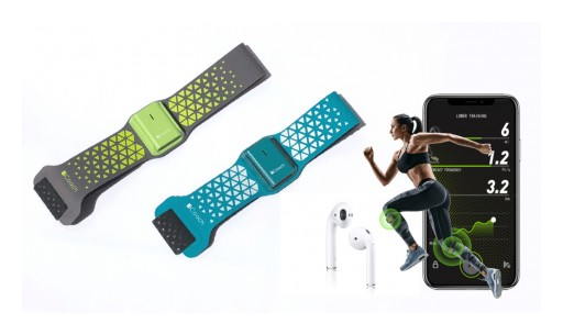 SensFusion Launched Next-Generation Wearable Running Sensor That Corrects and Improves Running Form and Performance