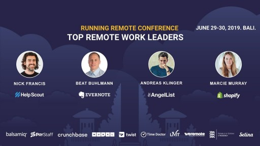 Running Remote Conference 2019 - World's Largest Remote Work Event