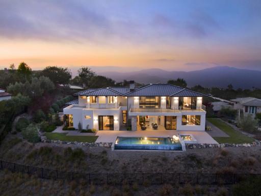 Contemporary Custom Built Home in Rancho Santa Fe's Prestigious Cielo Community Listed for Sale