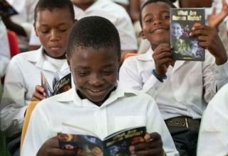 Booklets help children and youth to understand their rights.