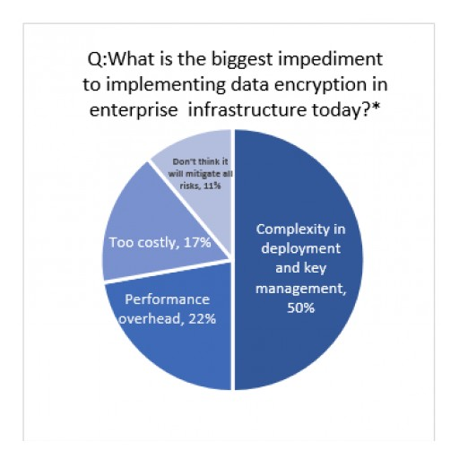 A Recent Study From IT Professionals Reveals Why Enterprise Data is More Difficult to Encrypt Than Cell Phone Data