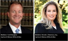 Florida Mediators Scott Baughan and Brenda J. Newman