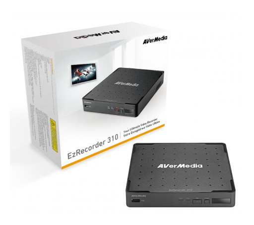 AVerMedia Unveils Its New Stand Alone DVR - EzRecorder 310
