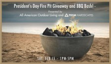 All American Outdoor Living Fire Pit Giveaway and BBQ Bash!