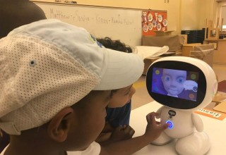 Children with autism engaging with EduPal