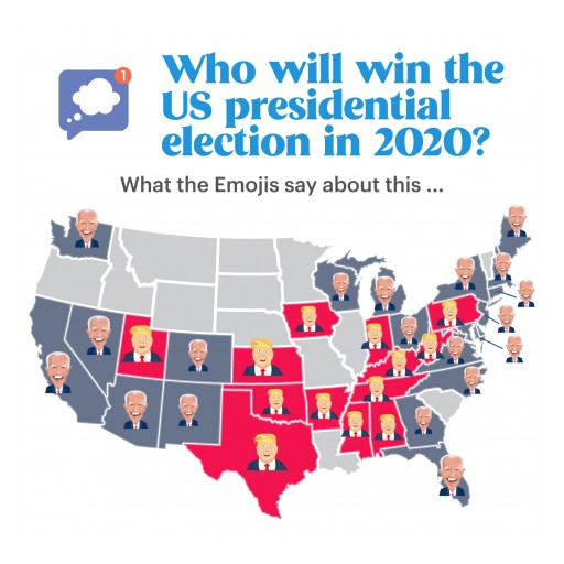 Mood Messenger Analyses the Use of Trump and Biden Emojis to Predict Who Will Win the 2020 Presidential Elections
