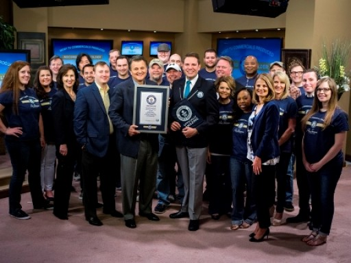 RON SHERMAN GUINNESS WORLD RECORDS® TITLE HOLDER FOR MOST TV COMMERCIALS PRODUCED IN THE WORLD