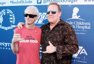 The Doors Robby Krieger and Artist Scotty Medlock