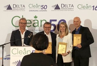 Clean50 Awards ceremony in Toronto