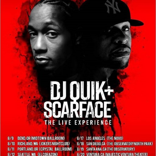 DJ Quik and Scarface - the Live Experience With Live Band
