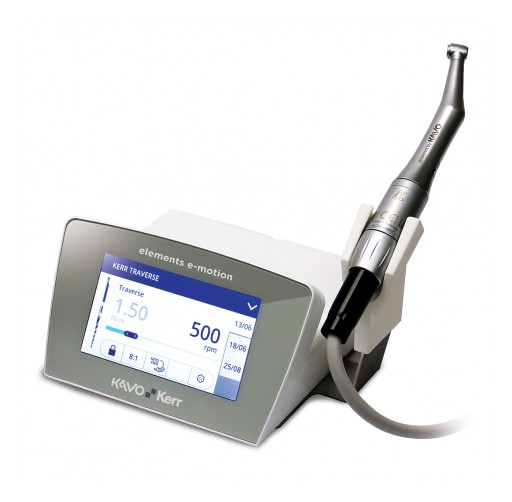 KaVo Kerr Introduces the elements™ e-motion Endodontic Motor