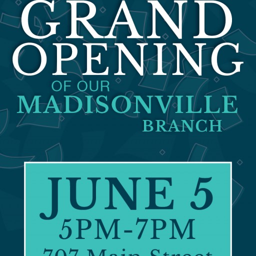 Heritage Bank of St. Tammany to Host Grand Opening in Madisonville, La.