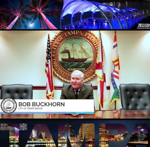 Tampa Mayor Bob Buckhorn Commends Breezin' Entertainment & Productions for Its Contribution to the City