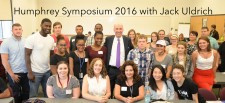 2016 Humphrey Symposium at Genesee Community College
