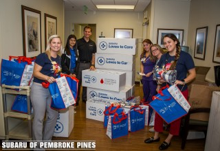 Subaru of Pembroke Pines Teams Up With The Leukemia & Lymphoma Society to Spread  Love, Hope, and Warmth to Cancer Patients and Their Families