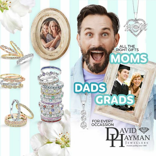 David Hayman Jewellers Offers Special Savings on Jewelry Purchases Made Through June 30