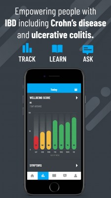 Oshi Health: The No. 1 all-in-one mobile app for Crohn's disease and ulcerative colitis