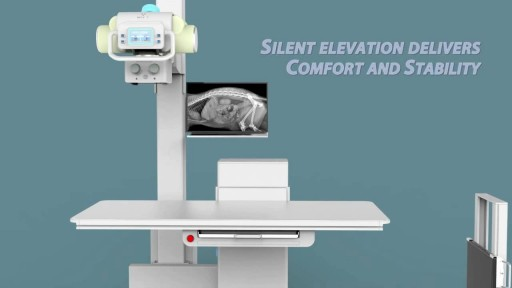 MyVet Imaging Elevating Digital X-Ray Table System