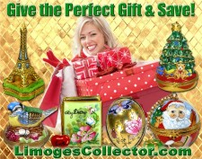 Shop for exceptional Holiday Gifts and Save at LimogesCollector.com